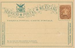 MEXICO  -  Servicio Postal - Ecuador