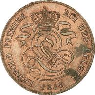 Belgique, Leopold I, 2 Centimes, 1846, SUP, Cuivre, KM:4.2 - 1831-1865: Leopold I