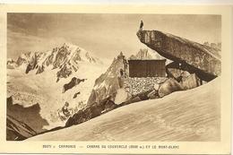 74 CHAMONIX REFUGE DU COUVERCLE MASSIF DU MONT BLANC Editeur LA CIGOGNE 25071C - Chamonix-Mont-Blanc