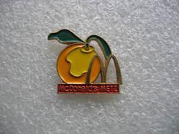 Pin's Du Mac Donald's De La Ville De METZ - McDonald's