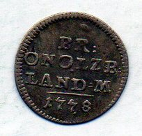 GERMAN STATES - BRANDENBURG-ANSBACH, 2 1/2 Kreuzer, Billon, 1778, KM #277 - [ 1] …-1871 : Duitse Staten