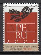 2007 Peru APEC Economic Free Trade Area  Complete Set Of 1  MNH - Peru
