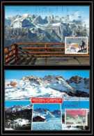 Italie (italy) - Carte Maximum (card) 1999 - N° 1105/6 ALPINISTES TRIDENTINS Mountains - Cartes-Maximum (CM)