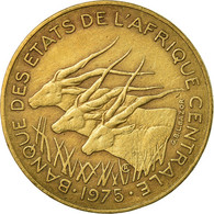 Monnaie, États De L'Afrique Centrale, 10 Francs, 1975, Paris, TTB - Cameroun