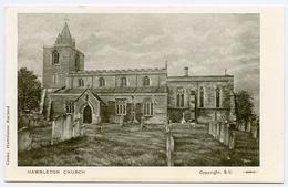 RUTLAND : HAMBLETON CHURCH - Rutland