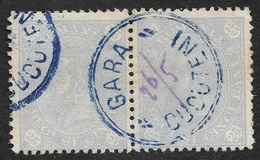 1890 - ROMANIA - ROUMANIE - Yv. 81(2) - Cancel GARA CUCUTENI  - Small Post Office - 1881-1918: Carol I.