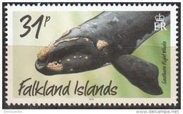 Falkland Islands 2016 Baleine Franche Australe Neuf ** - Falkland