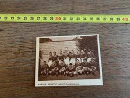 1934 M EQUIPE DE FOOTBALL AVENIR SPORTIF SAINT CHINIANAIS SAINT CHINIAN - Sammlungen