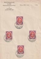 """Deutsches Reich / 1920 / Mi. 110 4x Auf Brief """"Nationalversammlung"""", SSt. Berlin (3449) - Deutschland"""