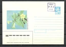 Estland Estonia 1992 Provisional Handstamp Surcharge P.P.E Stationery Cover - Estonia