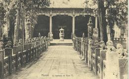 CHINE - CHINA -  HONAN - Le Tombeau De Kuan Ti - Cachet De La Poste 1921 - Chine