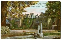 YORK : ANCIENT PALACE OF THE STUART KINGS - York