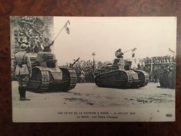 B248 – WW1. FETES DE LA VICTOIRE A PARIS 14 JUILLET 1919 – LE DEFILE DES CHARS D'ASSAUT - Guerra 1914-18