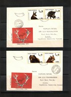 Romania 1976 Hunting Game Interesting Letters - Game