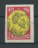 VIGNETTE  DELANDRE Propagande Guerre : L'Ancêtre - WWI WW1 Cinderella Poster Stamp 1914 1918 War - Vignettes Militaires