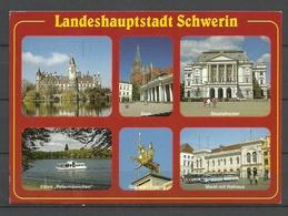Deutschland SCHWERIN Sent 1998 With Stamp - Schwerin