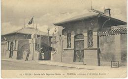 CHINE - CHINA -  118. - PEKIN - Entrée De La Légation D'Italie - Cachet De La Poste 1924 - Chine