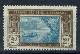 Ivory Coast, 2f., Ebrié Lagoon, 1913, MH VF - Unused Stamps