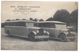 AMIENS ( 80 - Somme ) Noces Excursions Pélerinages - SOIRANT - 203 Route De Paris - Autocar Autobus - TTB Etat - Amiens