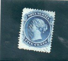 NOUVELLE-ECOSSE 1860 O - Nova Scotia