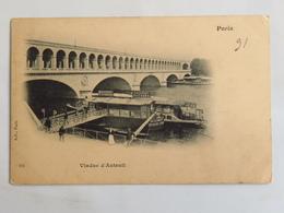 C. P. A. Précurseur : 75 PARIS 16 : Viaduc D'Auteuil - Arrondissement: 16