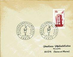 PARIS 11956 Oeuvre Des Orphelins Des PTT FOYER FEMININ Enfant - Marcophilie (Lettres)