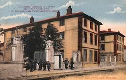 82 - Montauban - Quartier Andréossy - Escadron Des Equipages (animée Colorisée 1927) - Montauban