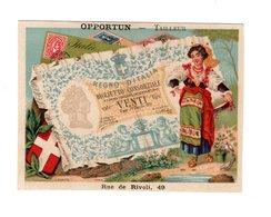 Chromo Imp. Bognard, 3-33-2, Les Billets De Banque, Italie - Cromo