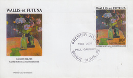 Enveloppe  FDC  1er  Jour    WALLIS  Et  FUTUNA     Oeuvre  De   Paul   GAUGUIN   2003 - FDC
