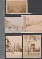 DIJON 21 COTE D'OR - LOT DE 5 PHOTOS AVANT 1900 - Dijon