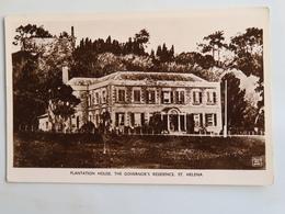 Carte Postale : SAINTE-HELENE, St. Helena, Plantation House, The Governor's Residence - Sainte-Hélène
