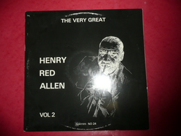 LP33 N°184 - HENRY RED ALLEN - THE VERY GREAT - VOL.2 -  COMPILATION 10 TITRES - Jazz