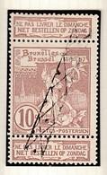 Nr 72 Gestempeld Met Annulatiestempel - 1894-1896 Expositions