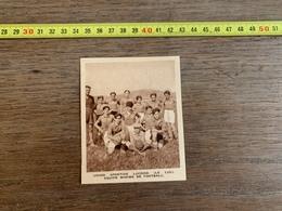 1934 M EQUIPE FOOTBALL UNION SPORTIVE LUCOISE LE LUC - Colecciones