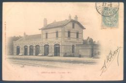 77 CRECY En BRIE  La Gare - France