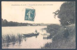 77 CHARTRETTES Perspective De La Seine Prise De Rouillon - France