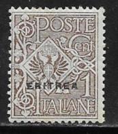 Eritrea Scott # 88 MNH Italy Stamp Overprinted, 1924, CV$23.00 - Eritrea
