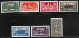 Eritrea Scott # 109-115 MNH Italy Monte Cassino Issue Overprinted, 1929, CV$160.00, #115 Has A Gum Crease - Eritrea