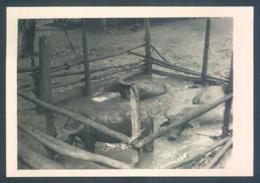 Viet Nam Tonkin 1949 Terres Rouges Village Photo 7 X 10 Cm - Lieux