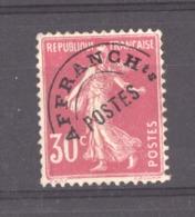 0ob 0484  -  France  -  Préos  :  Yv  59  (*) - 1893-1947