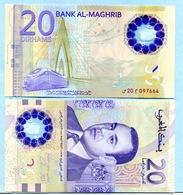 20 Dirhams Pour Les 20 Ans Du Trône De Mohamed VI N° 20  097664 - Maroc