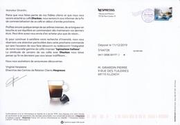 PAP Entier Postal DESTINEO Timbre En Ligne NESPRESSO Café 2 - Privatganzsachen
