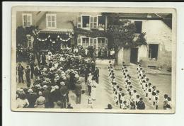 """88 - Vosges - Le Thillot - Carte Photo - Société """" L'Effort """" Le 14 Juillet 1921 - Beau Plan - - Le Thillot"""