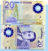 20 Dirhams Pour Les 20 Ans Du Trône De Mohamed VI N° 20  097669 - Morocco