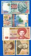 Kazakhstan   10  Billets  Dans  L'etat - Kazakhstan