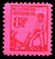 SBZ MECKLBRG VORP. Nr 11xb Postfrisch X65202E - Sowjetische Zone (SBZ)