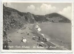 Y4812 Isola D'Ischia (Napoli) - Sant'Angelo - La Spiaggia Dei Maronti - Panorama / Viaggiata 1959 - Other Cities
