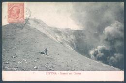 Sicilia L'ETNA Interno Del Cratere - Italie