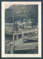 Lot De 7 Photos 73 AIX Les BAINS Lac Du Bourget 1936 Photos Originales 6.5 X 9 Cm - Places