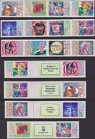 Australia 1998 Rock Posters Sc 1674a MNH P&S - Mint Stamps